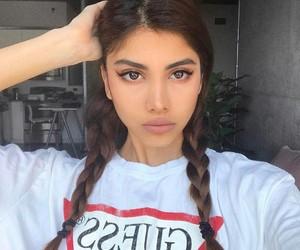 beauty, make up, and braids image