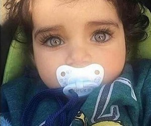 baby, eyes, and cute image