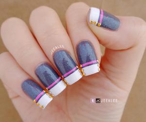 military, nail art, and nail polish image