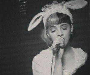 black and white, sing, and melanie martinez image
