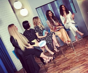 lucy hale, troian bellisario, and shay mitchell image
