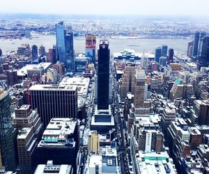 empire state building, new york city, and skyline image
