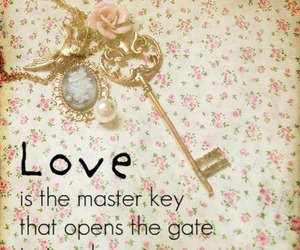 hapiness, key, and quote image