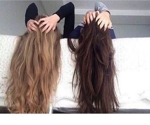 bff, blonde, and brown image