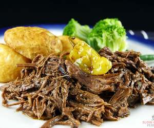 beef, dinner, and food image