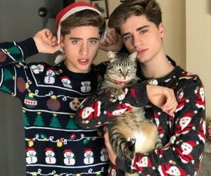 boys, christmas, and ivan martinez image
