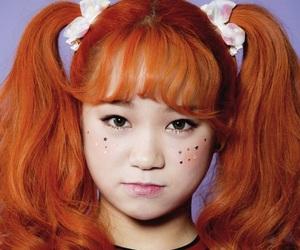 hanbi, kpop, and lipbubble image