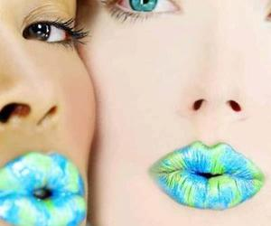 cool, kiss, and lips image