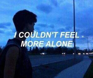 grunge, alone, and sad image