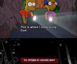 cry, bart, and grunge image