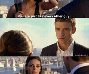 friends with benefits, Mila Kunis, and sad image