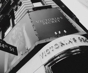 black and white and victoria's secret image