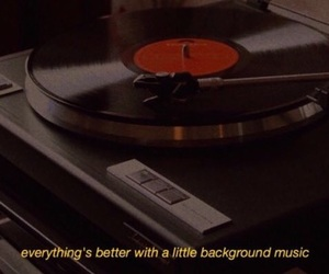 music, quotes, and aesthetic image