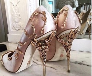 chic, luxury, and heels image