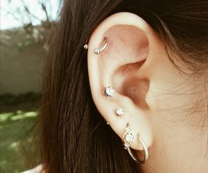ear, girl, and helix image