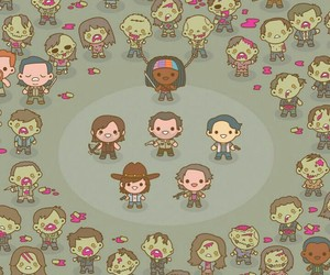 wallpaper, the walking dead, and twd image