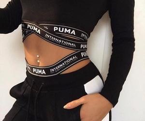 puma, fashion, and outfit image