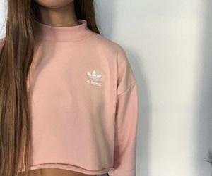 adidas, hair, and cute image