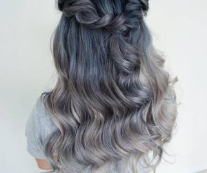 colorful, girly, and hair image