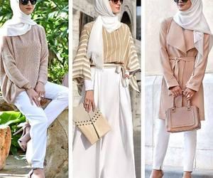 hijab, spring, and summer image