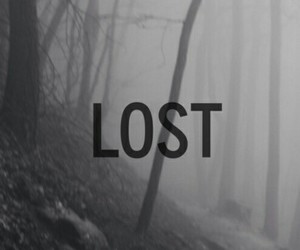 lost, dark, and grunge image