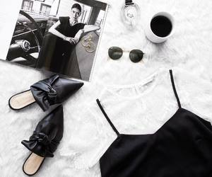 coffee and shoes image