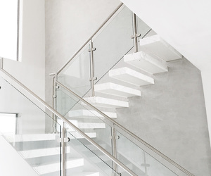 stairs, white, and home image