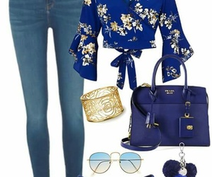 blue, clothes, and girly image