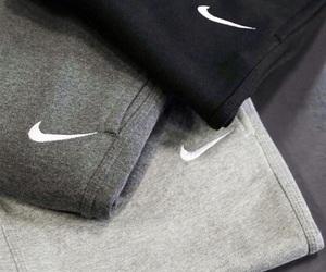 nike, black, and grey image