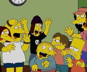 simpsons, the simpsons, and bart image