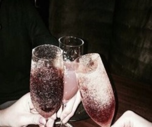 champagne, aesthetic, and fizz image
