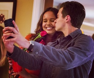 13 reasons why, netflix, and couple image