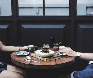 coffee, couple, and photography image