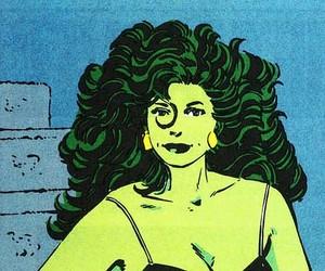 comics, Marvel, and she hulk image