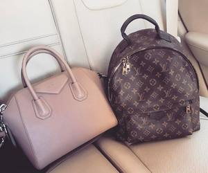 Givenchy, Louis Vuitton, and bags image