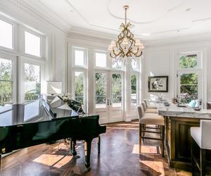 nice, living, and piano image
