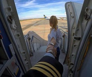 aviation and girl image