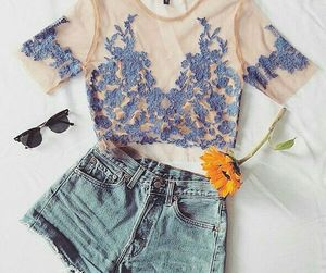 beach, fashion, and flowers image