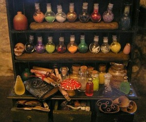 cupboard, wicca, and magic image