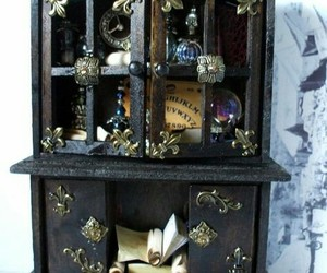 cabinet, magic, and witch image