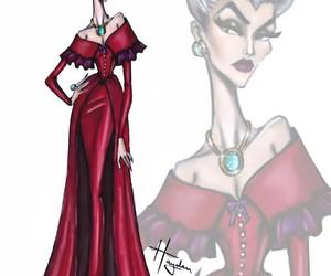 cinderella, disney, and lady tremaine image