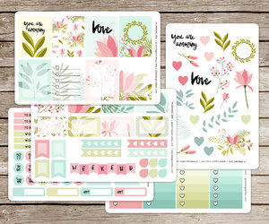 etsy, stickers, and planner stickers image