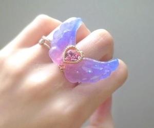 kawaii, ring, and goth image