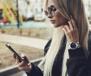 fashion, hair, and russian Model image