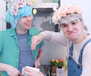 pastel, dan and phil, and dan howell image