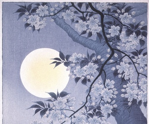 art, japanese art, and ohara koson image