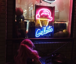 blue, gelato, and glow image