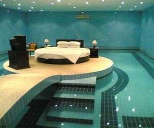 cama, dormitorio, and Dream image
