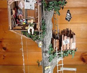 art, dolls, and treehouse image