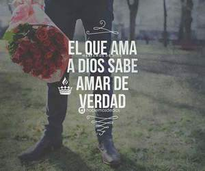 love, frases, and dios image